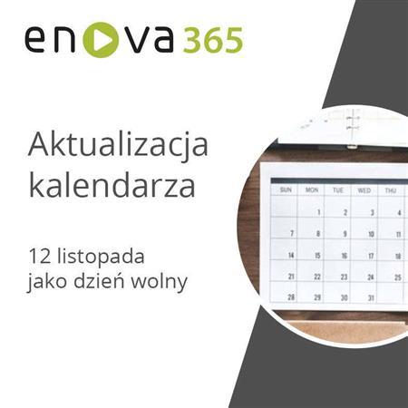 Zdjęcie dla posta Aktualizacja kalendarza w enova365