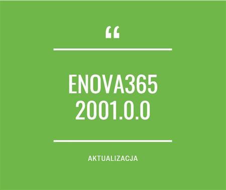 Zdjęcie dla posta enova365 2001.0.0 - nowa wersja oprogramowania